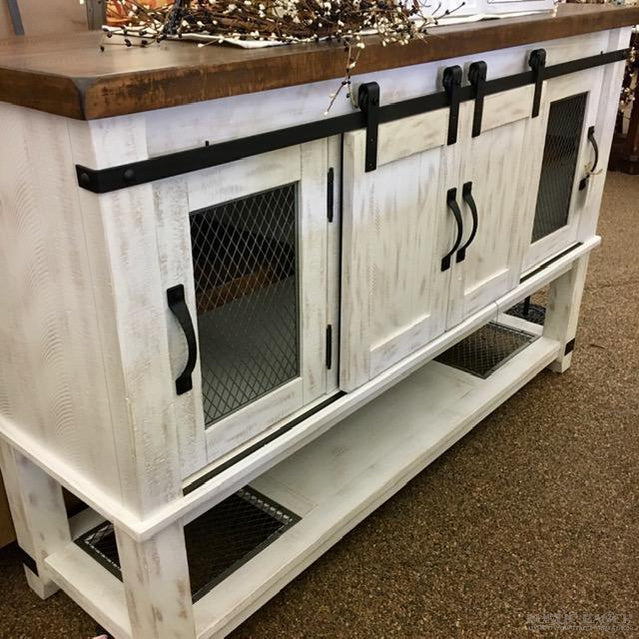VALEBECK SERVER-Rustic Ranch