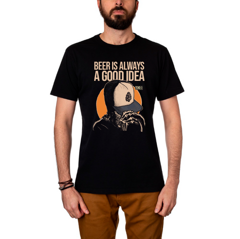 Camiseta Good Idea Preta