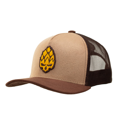 Boné Trucker Yellow Hop
