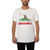 Camiseta Beer California Off White + Pôster