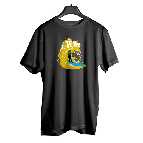 Camiseta HopHead Surf Beer Grafite
