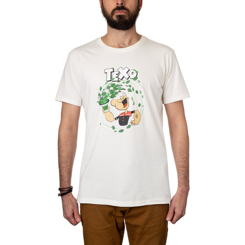 Camiseta Popeye Off White + Pôster