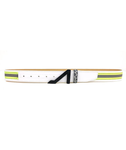 3M WHITE REFLECTIVE LIME BELT