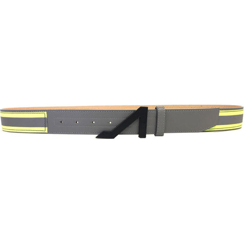 3M GRAY REFLECTIVE LIME BELT