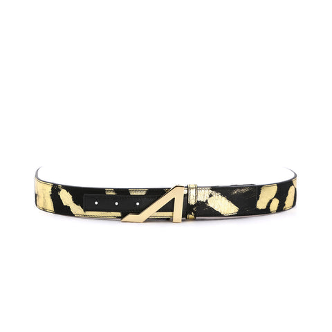 APOLINAR GOLD LEAF BELT