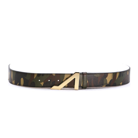 TSUNAMI NAPA LEATHER CAMOUFLAGED BELT