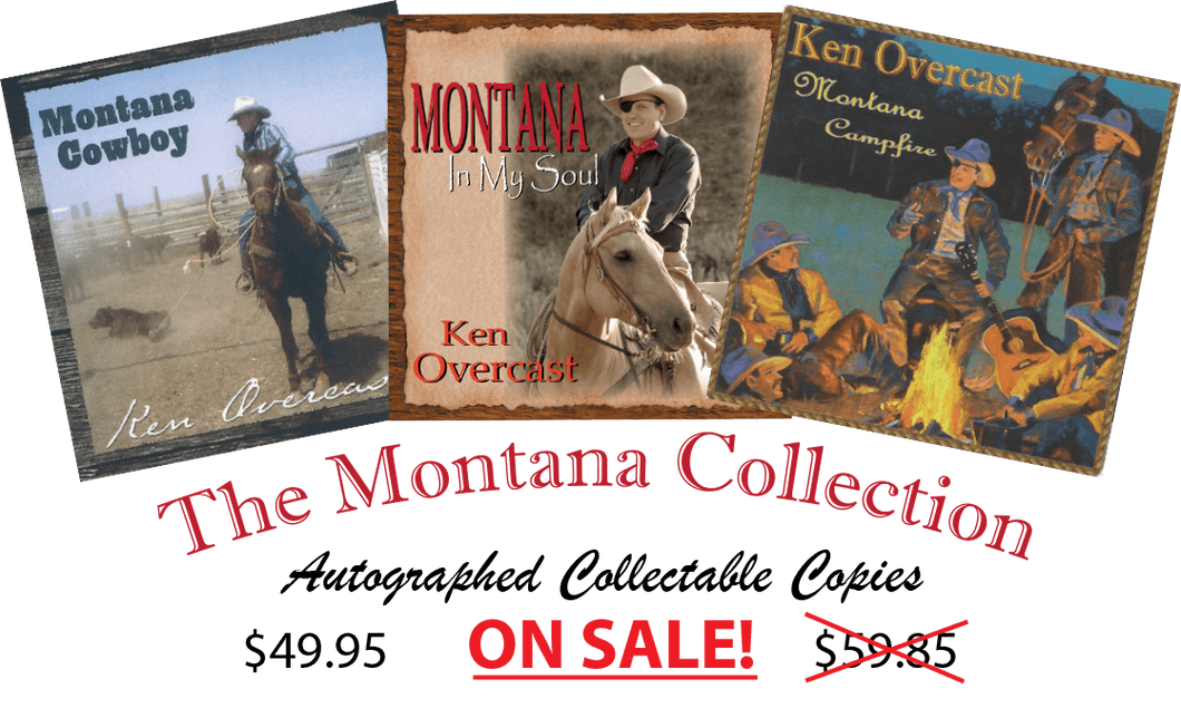 The Autographed Three CD Montana Collection