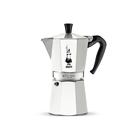Cafetière italienne Bialetti Moka Express - 9 tasses - Argent
