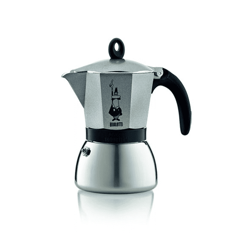 Cafetière italienne Bialetti Moka Induction - 6 tasses - Anthracite