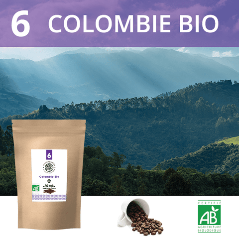 Café en grains Bio Colombie 1Kg