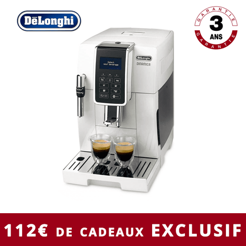 Machine à expresso automatique DeLonghi DINAMICA FEB 3535.W