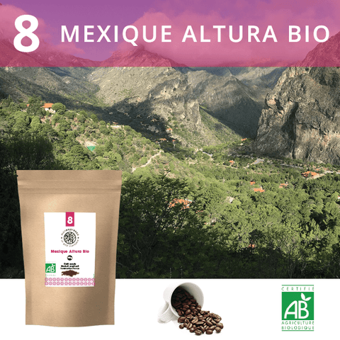 Mexique Altura Bio - Café en grains 250g