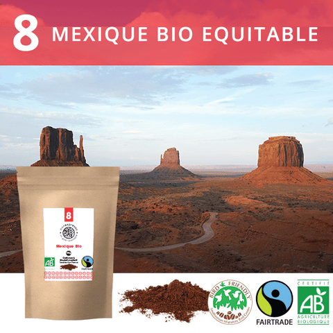 Mexique Bio Equitable Bird Friendly Label - moulu 250g