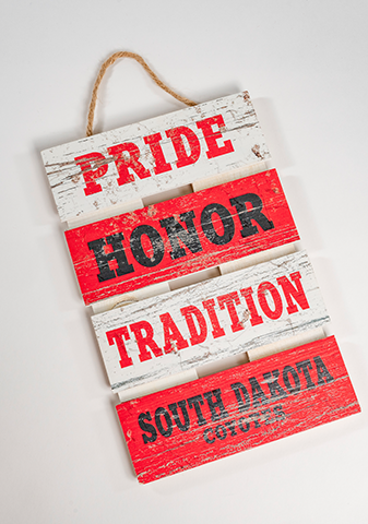 Pride, Honor, Tradition Wall Sign