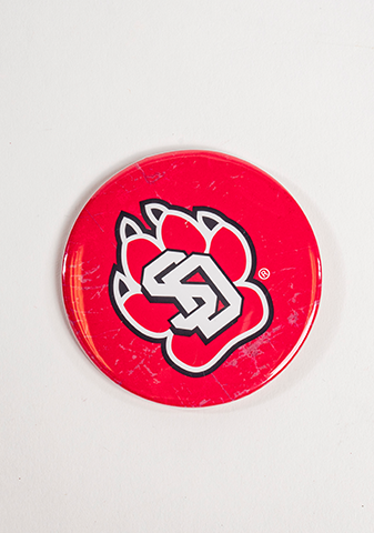 Red SD Paw Magnet