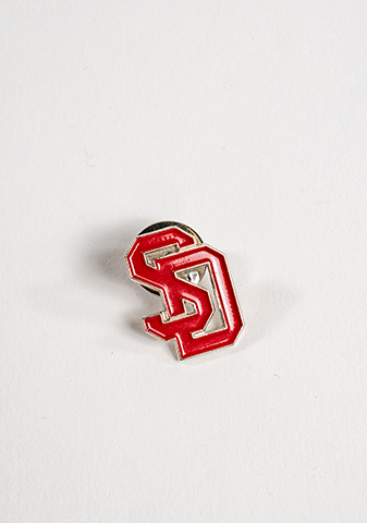 Red SD Lapel Pin