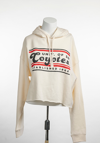 Cream USD Coyotes Bar Sweatshirt