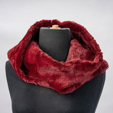 Load image into Gallery viewer, Faux Fur Cowl Scarf