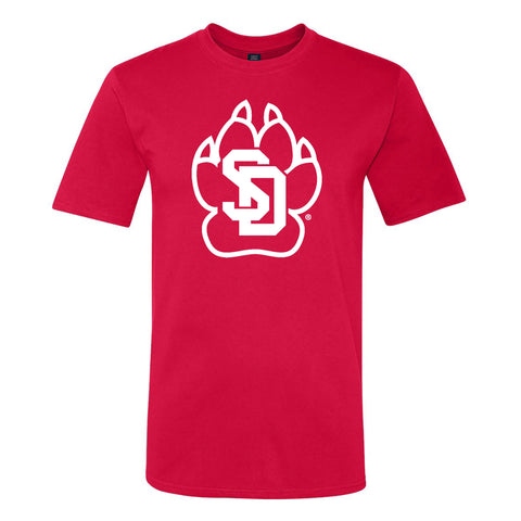 Unisex One-Color SD Paw Tee