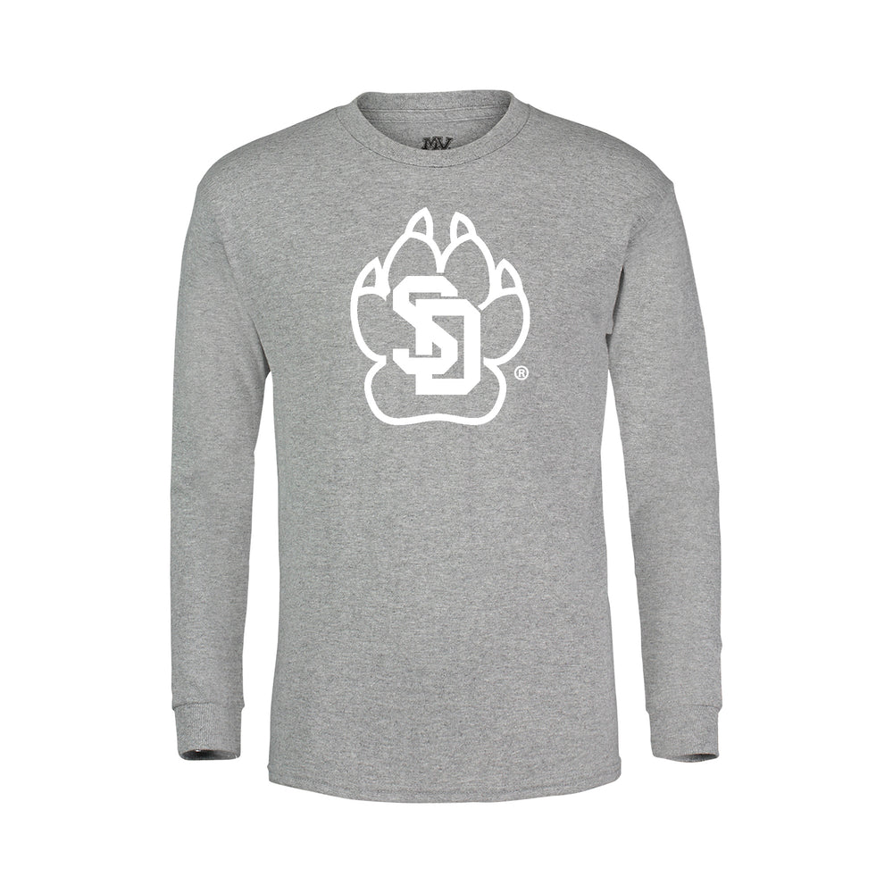 Load image into Gallery viewer, Youth Long Sleeve Tee with the SD Paw