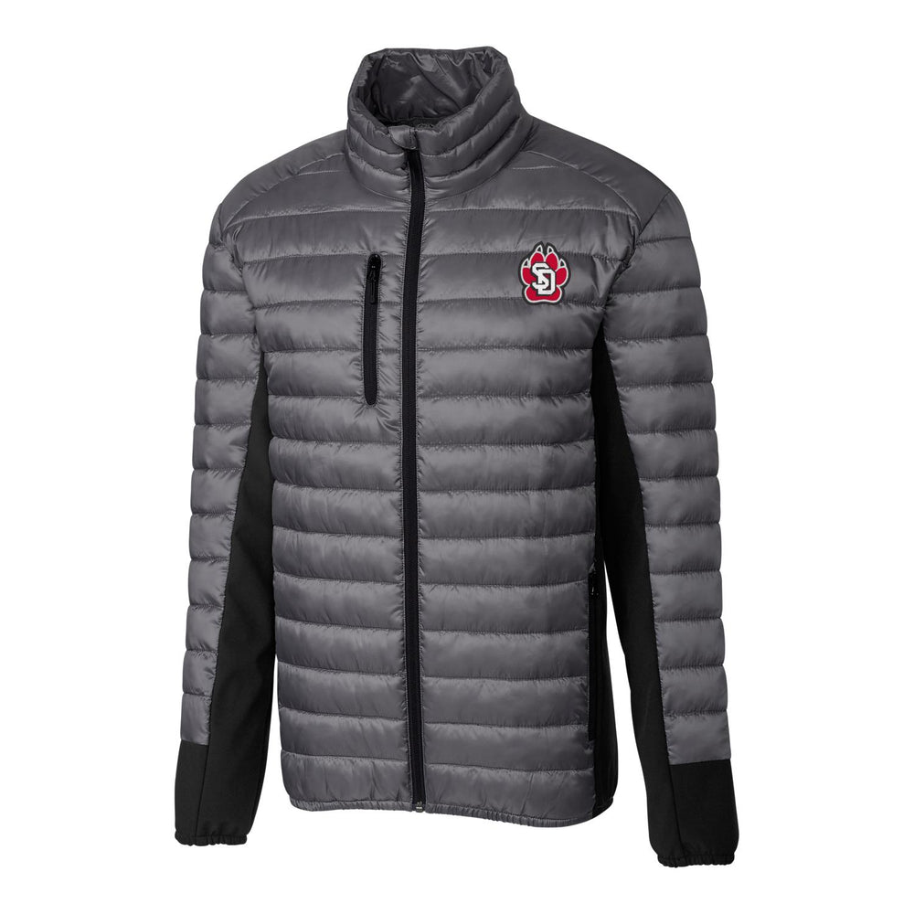 Men's Quilted Jacket with SD Paw