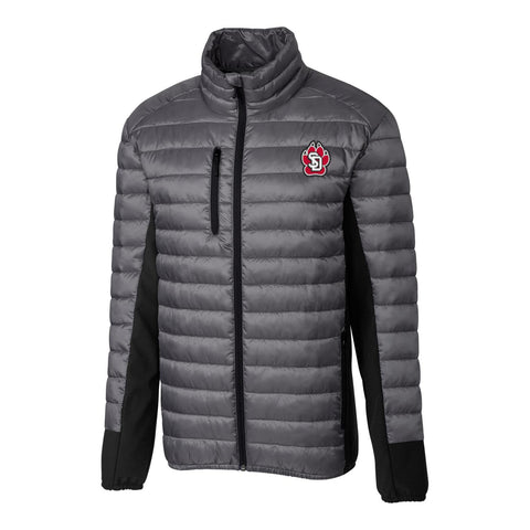 Men Quilted Jacket with SD Paw