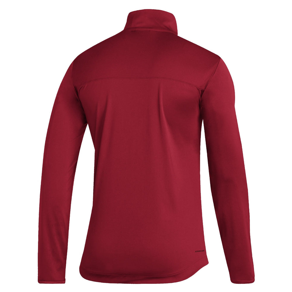 Load image into Gallery viewer, Men's Red 1/4 Zip Under the Lights