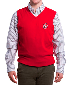 Load image into Gallery viewer, Cutter & Buck Red Sweater Vest