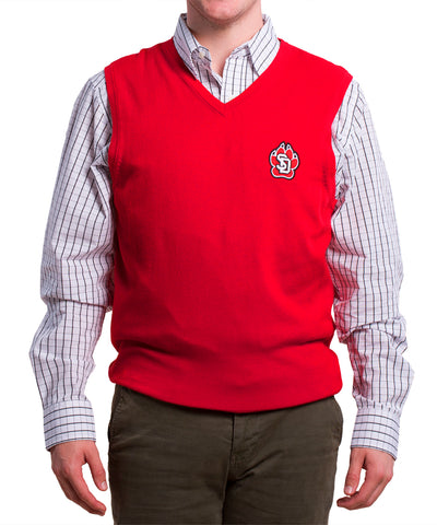 Cutter & Buck Red Sweater Vest