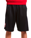 South Dakota Coyotes Nike Black/Red Athletic Shorts