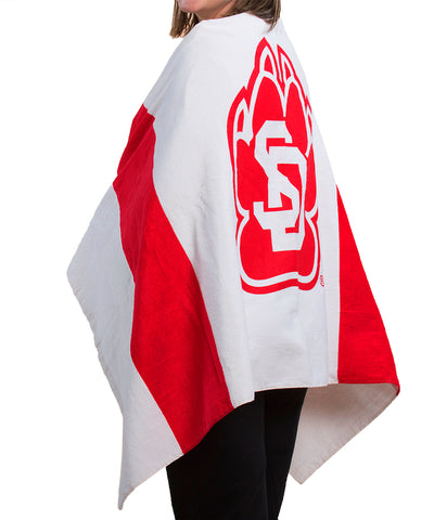 South Dakota Coyotes SD Beach Towel