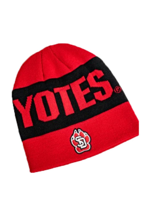 Adidas Red & Black Yotes Beanie Hat