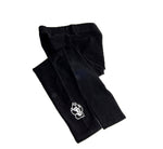 Black Youth SD Paw Leggings