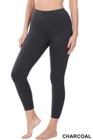 Load image into Gallery viewer, Brushed MicroFiber Full Length Leggings