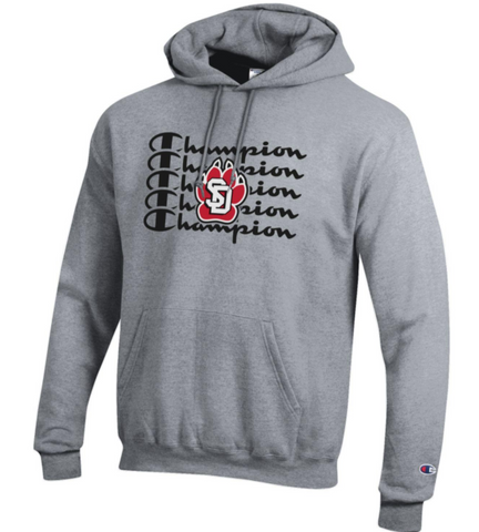Champion Hoodie with Co-Branded Logo