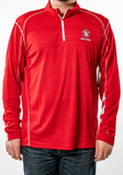 Men's Quarter-Zip with back Detail