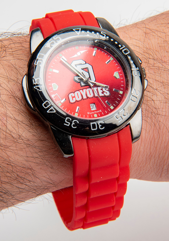 SD Coyotes Sport Band Watch
