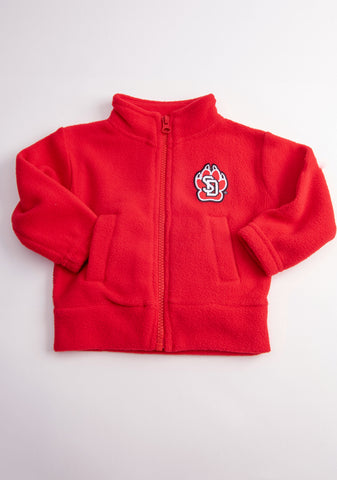 SD Paw Fleece Full Zip