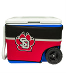 South Dakota Coyotes 40-Quart Cooler Wrap (Cooler not included)