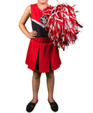 South Dakota Coyotes Youth Cheerleader Outfit