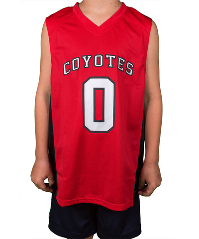 South Dakota Coyote Youth Basketball Jersey