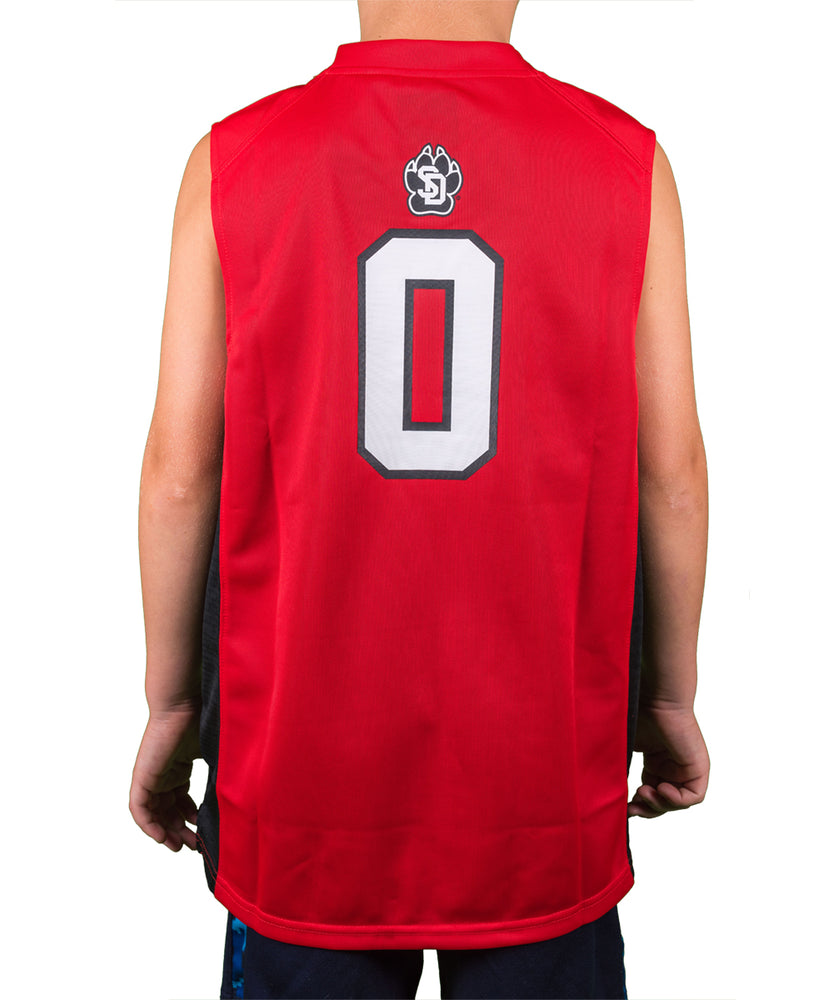 Load image into Gallery viewer, South Dakota Coyote Youth Basketball Jersey