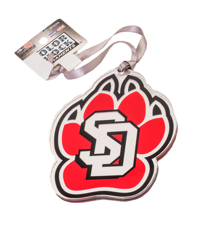 SD Paw Acrylic Ornament