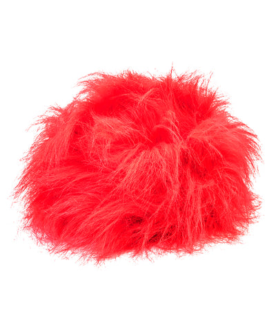 South Dakota Coyotes Red Crazies Wig