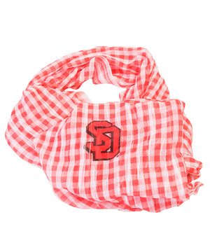Load image into Gallery viewer, Gingham Infinity Scarf