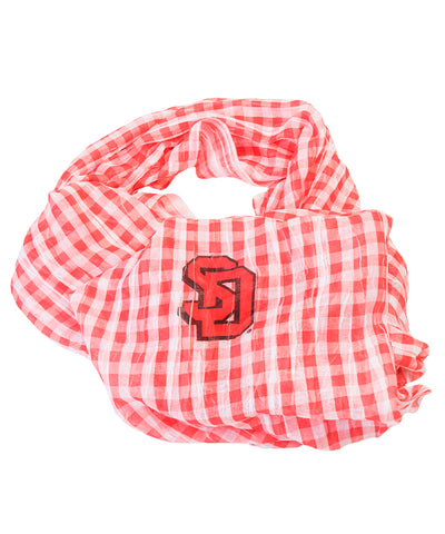 Gingham Infinity Scarf