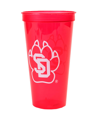 Red SD Paw Cup