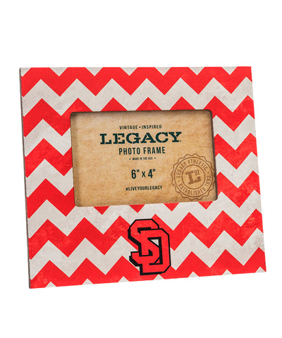 USD Chevron Picture Frame