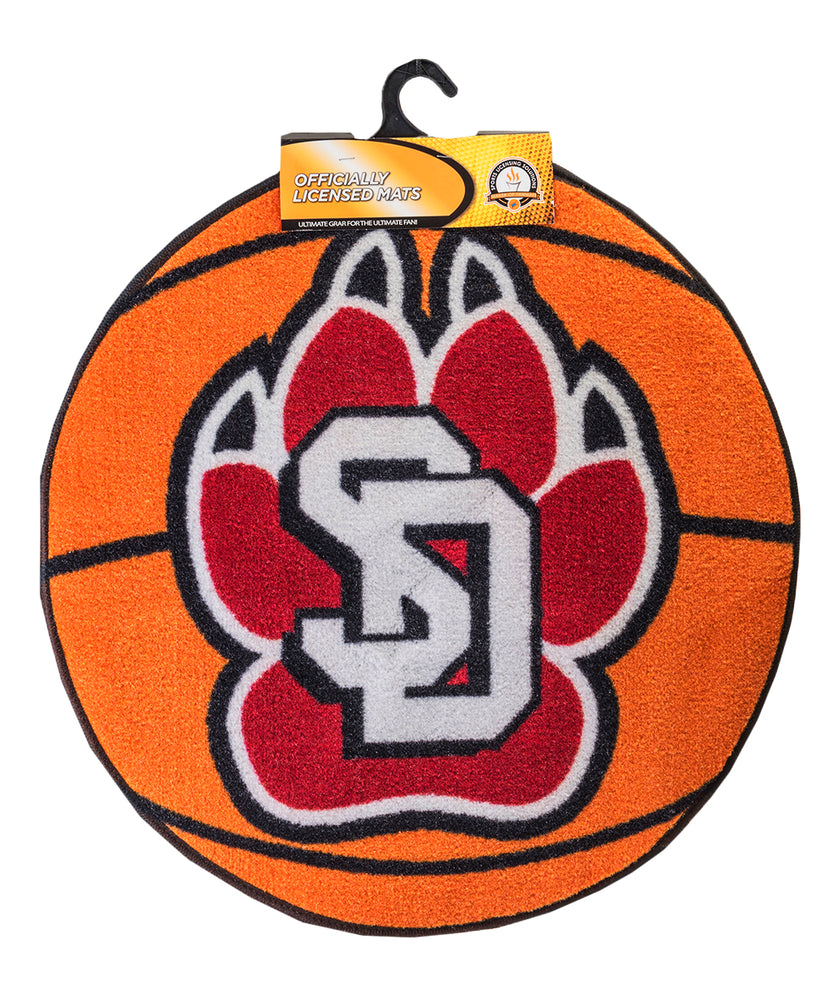 SD Paw Basketball Mat