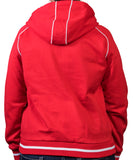 Red SD Paw Full-Zip Grace Hoodie
